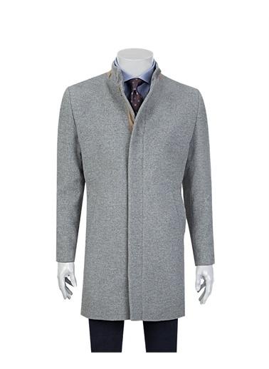 Tween Tween Düz Fermuarlı Kapalı Erkek Palto Gri